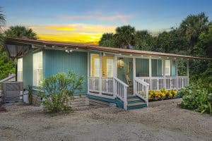 Vero Beach Real Estate Photography - Housefront at Dusk