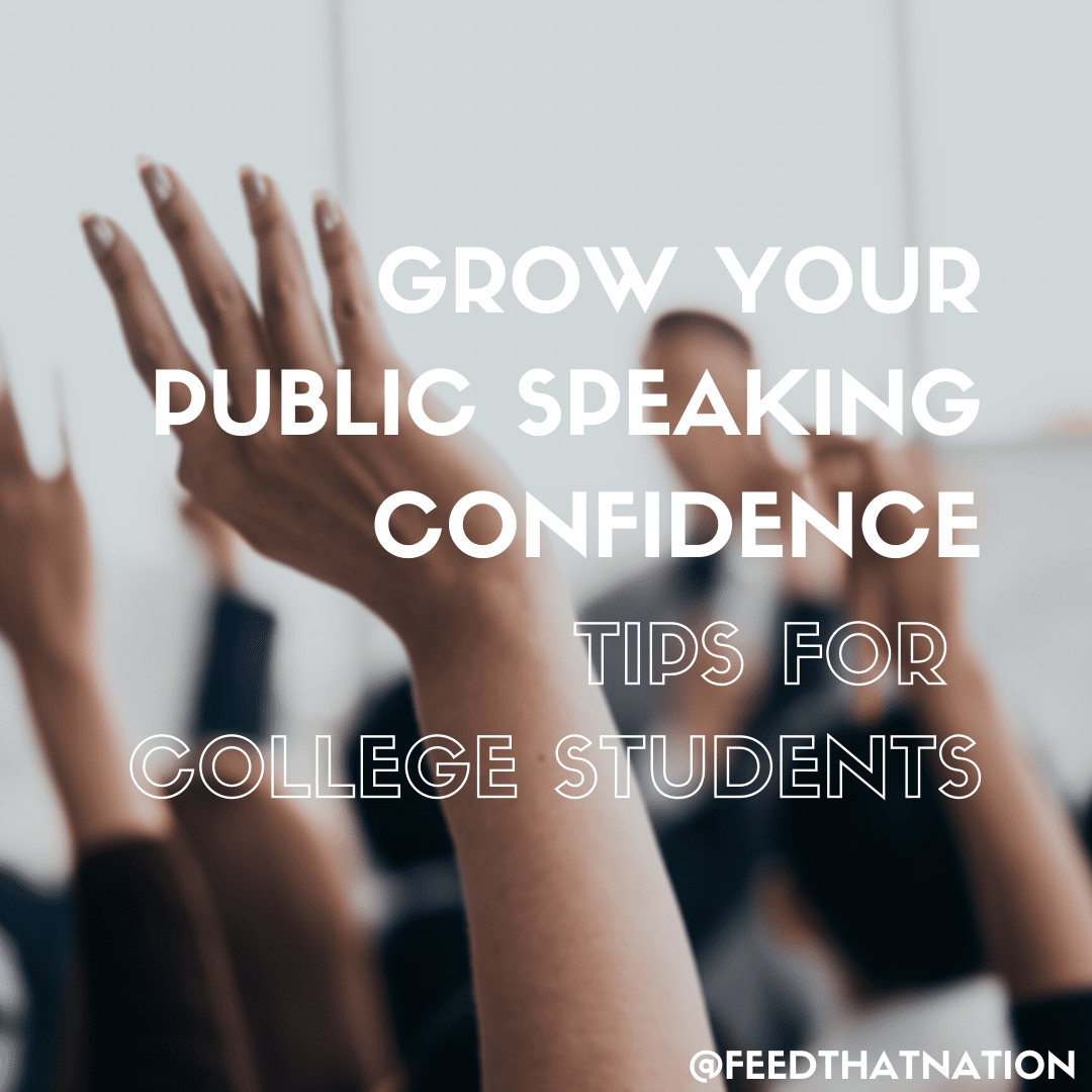 Grow Your Public Speaking Confidence: Tips For College Students